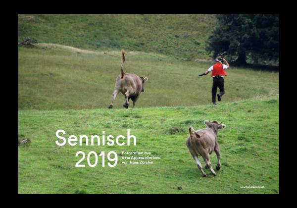 Bildkalender 2019 Sennisch - jetzt zum halben Preis