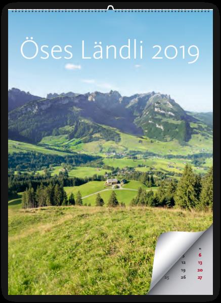 Bildkalender - Öses Ländli 2019 - jetzt zum halben Preis